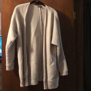 Fuzzy and soft Express Cardigan
